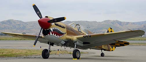 Curtiss P-40N Warhawk NL85104, May 14, 2011